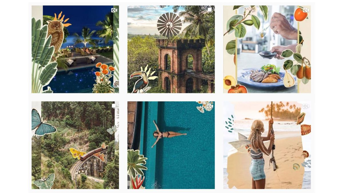 7 totally distinct brand Instagram feeds