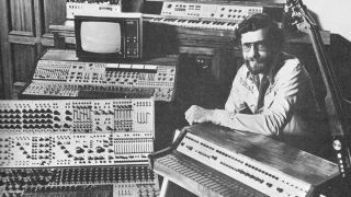 Don Buchla in the '60s.