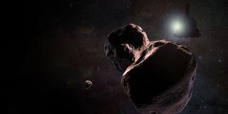 New Horizon's MU69 flyby
