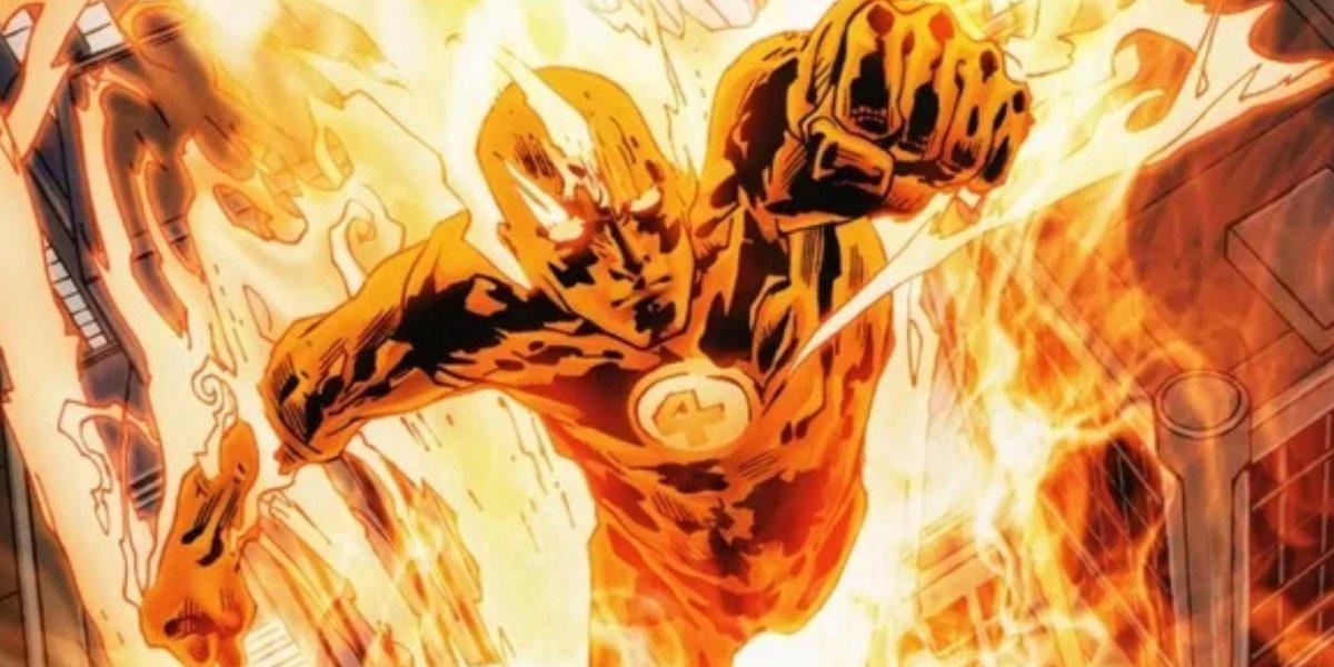 Marvel's Fantastic Four member Human Torch