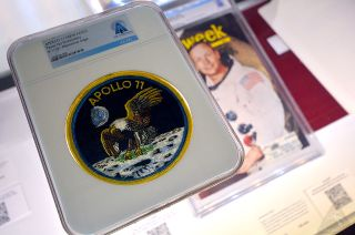 neil armstrong memorabilia auction
