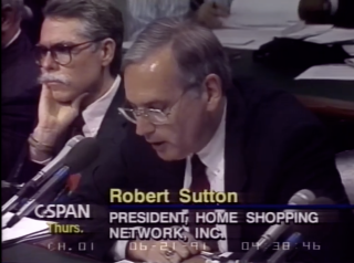 """Robert Sutton in Senate testimony on """"must-carry"""" rules in 1991. Via C-SPAN.org"""