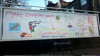 This advertisement made in MS Paint is both adorable and odd