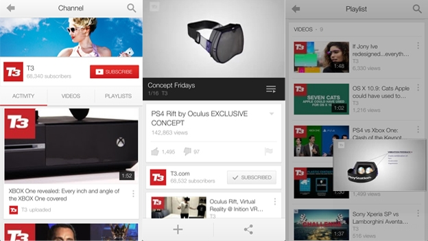 YouTube app updated with iOS 7 styling and new features | T3