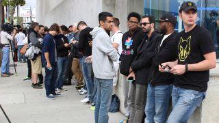 Apple Watch launch line