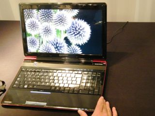 Toshiba Qosmio F750 3D - 3D, without the glasses