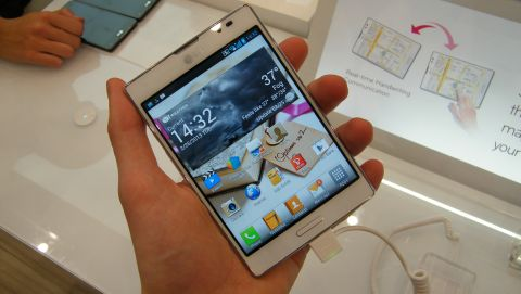 LG Optimus Vu 2 review