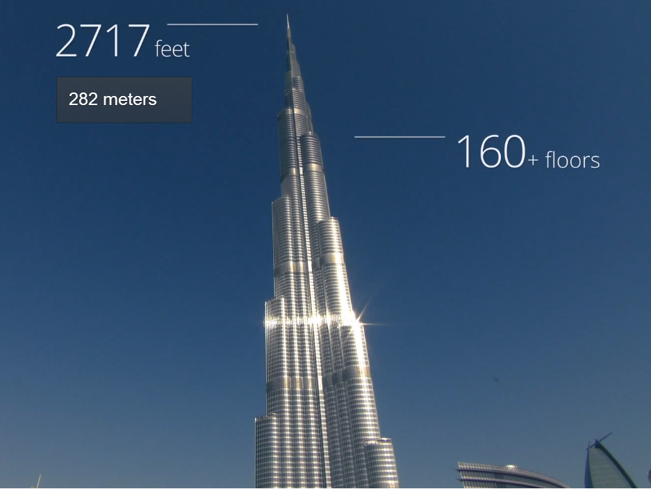 Google maps world's tallest skyscraper