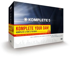 Komplete 5 contains 11 bits of software