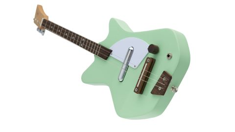 The Electric Loog requires some self assembly, which the designers reckon helps new players bond with the instrument