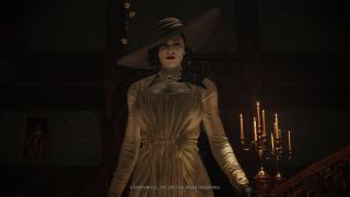 Screenshot of Resident Evil Village Lady Dimitrescu