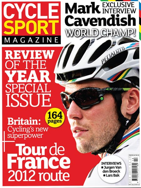 Cycle Sport December 2011 issue