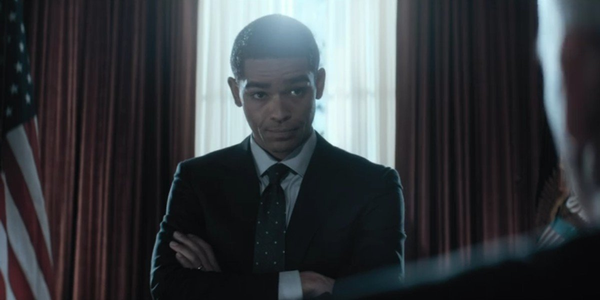 Kingsley Ben-Adir as Barack Obama in The Comey Rule