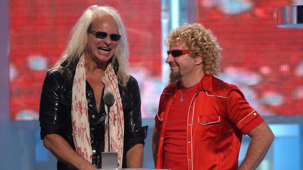 Roth S Van Halen Sales Trounce Sammy Hagar S Hold On There Dave Guitarplayer