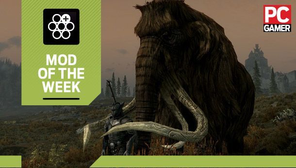 Mod of the Week: Tame the Beasts of Skyrim II | PC Gamer