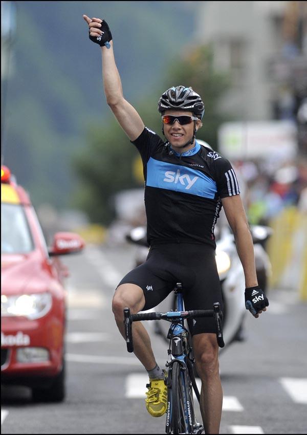 Edvald Boasson Hagen wins, Criterium du Dauphine 2010, stage 7