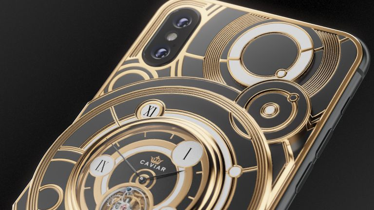 Limited Edition iPhone XS comes with a mechanical watch built in