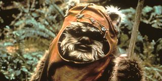 Ewok Wicket in Star Wars: Return of the Jedi Lucasfilm