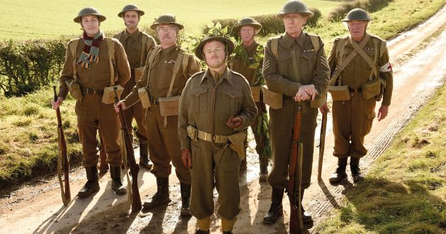 DAD'S ARMY - The Walmington-on-Sea Home Guard platoon deal with a visiting female journalist and a German spy as World War II draws to its conclusion.