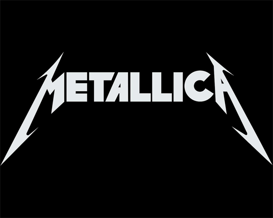 35 beautiful band logo designs - Metallica