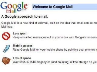 Gmail massive growth