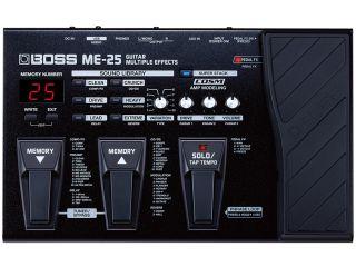 Boss ME 25 multi effects guitar pedal