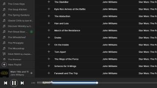 Star Wars in Spotify