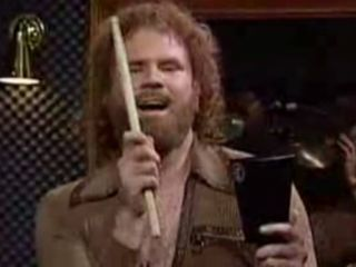 Gene Fenkle doesn't fear the cowbell