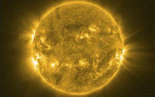 SWAP View of Sun