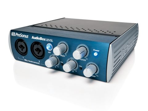 The AudioBox 22VSL will prove useful for beginners.