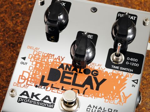 The Analog Delay's sound is very much on the bright side…