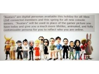 Xbox avatars - not copying Nintendo Miis, according to UK Xbox boss, Stephen McGill