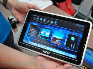 MSI unveils new WindPad range of tablet PCs at Computex 2010 in Taiwan