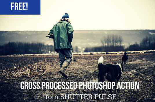Free Photoshop actions: Cross Processed