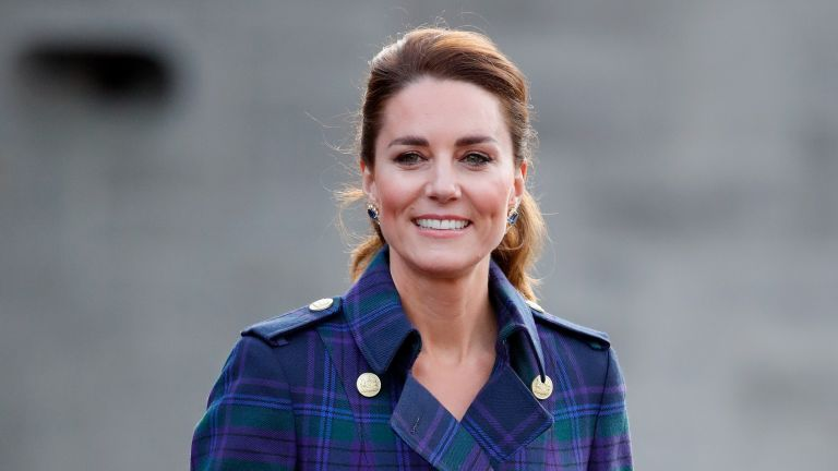 Kate Middleton, Duchess of Cambridge hosts a drive-in cinema screening of Disney's 'Cruella' for Scottish NHS workers at The Palace of Holyroodhouse on May 26, 2021 in Edinburgh, Scotland