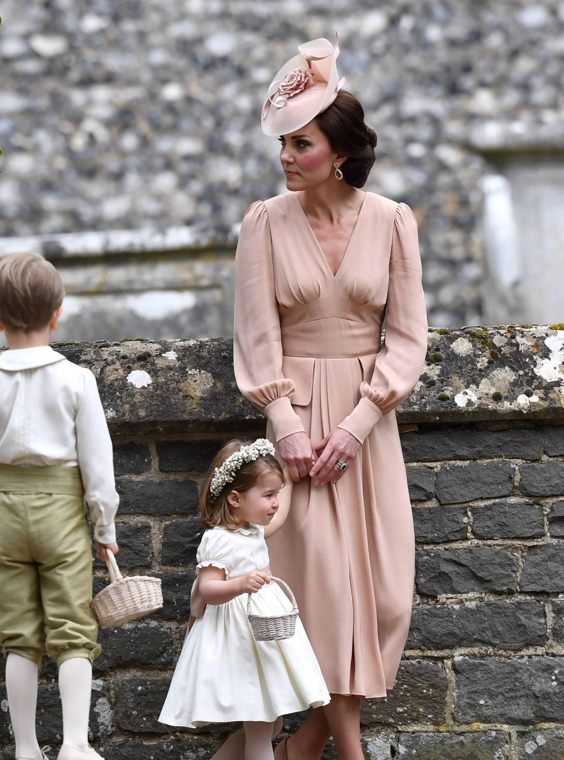 Kate at Pippa's Wedding