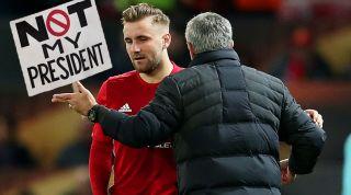Jose Mourinho, Luke Shaw