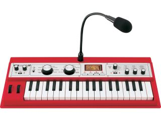 The microKorg XL is now available in a striking red finish.