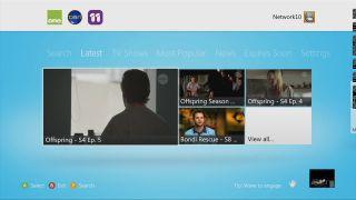 Network Ten Xbox app