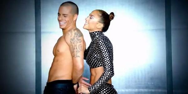Casper Smart and Jennifer Lopez