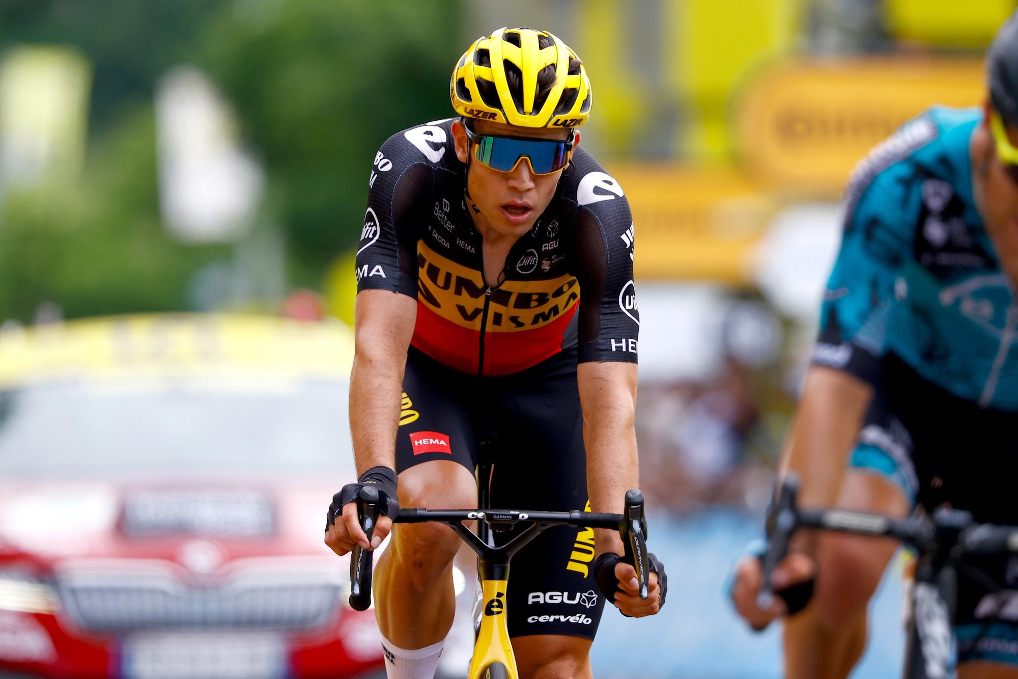 Tour de France 2021 108th Edition 7th stage Vierzon Le Creusot 2491 km 02072021 Wout Van Aert BEL Jumbo Visma photo Luca BettiniBettiniPhoto2021