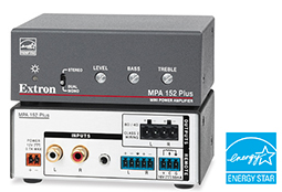 Extron Audio Amplifier with Enhanced Performance