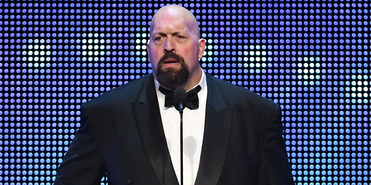 Big Show at the WWE Hall of Fame ceremony
