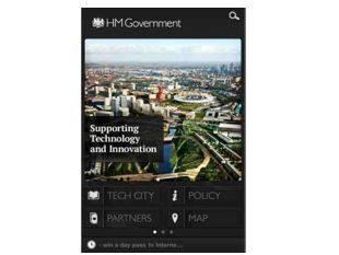 Tech City gets UK-made app
