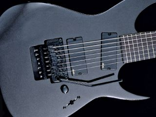 round up 4 brutal 7 string electric guitars musicradar. Black Bedroom Furniture Sets. Home Design Ideas