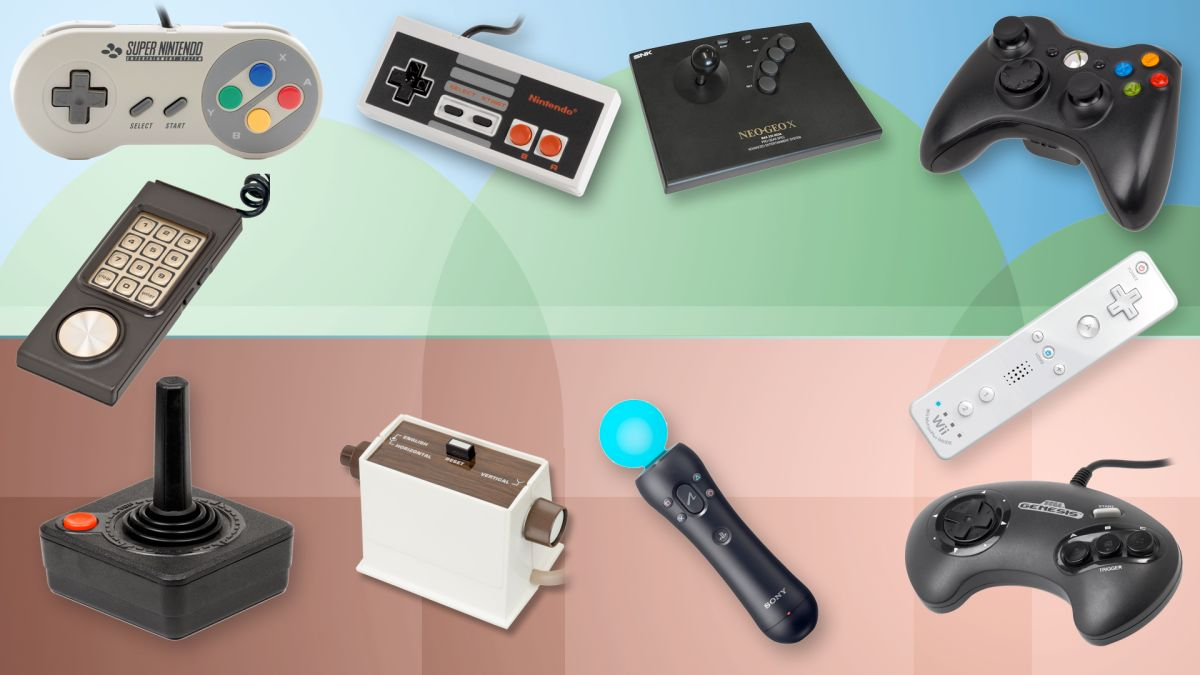 25 of the most important gaming controllers ever | TechRadar