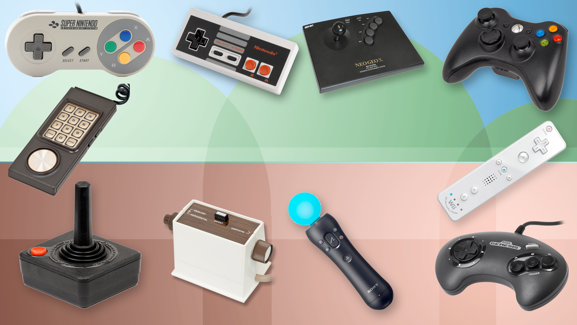 25 of the most important gaming controllers ever techradar publicscrutiny Image collections