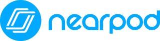 nearpod logo, blue