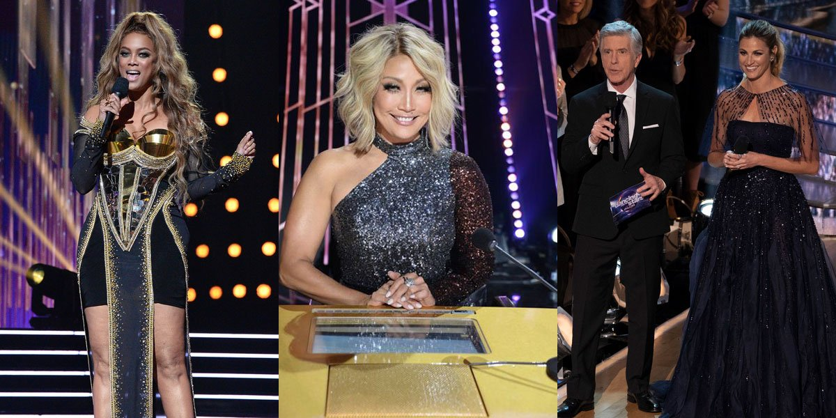 Dancing with the Stars Tyra Banks, Carrie Ann Inaba and more courtesy of ABC