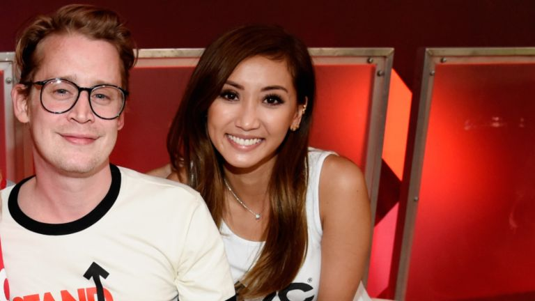 Macaulay Culkin, and Brenda Song attend the sixth biennial Stand Up To Cancer (SU2C) telecast
